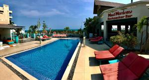 The swimming pool at or near Mui Ne Hills Backpackers
