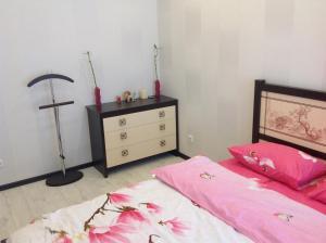 Кровать или кровати в номере Phan Thiet Apartments