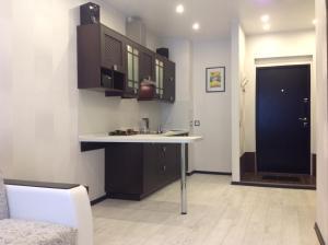Кухня или мини-кухня в Phan Thiet Apartments