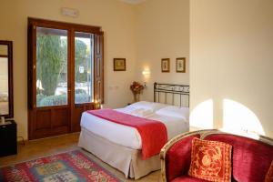 Letto o letti in una camera di B&B Villa Giulia