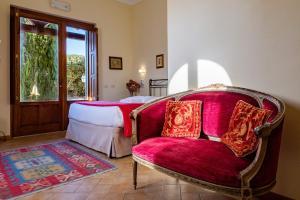 Area soggiorno di B&B Villa Giulia
