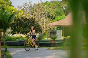 Radfahren an der Unterkunft Le Charme Sukhothai Historical Park oder in der Nähe