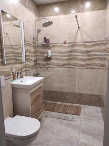 Ванная комната в Seaside Studio