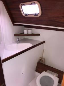 Koupelna v ubytování Siófok Dock