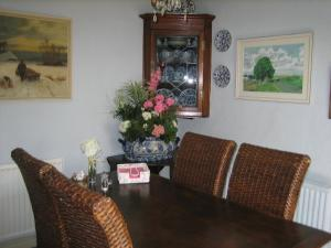 A seating area at The Mohair Farm