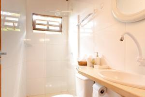 Um banheiro em Jeri Pousada
