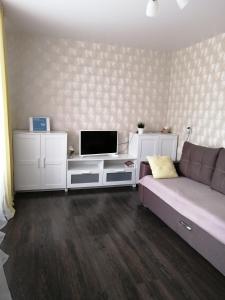 Гостиная зона в Apartment on Lenina 48
