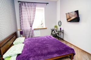 Кровать или кровати в номере Inter-apart on Sadovaya