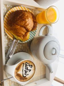 Breakfast options available to guests at HOTEL LOTUS