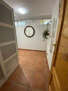 A bathroom at Apartamento bodega intima