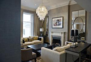 A seating area at The Chester Hotel