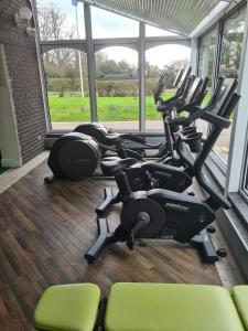 The fitness center and/or fitness facilities at Best Western Ipswich Hotel & Spa