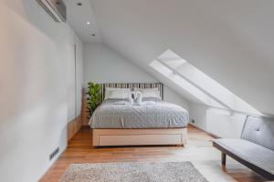 Letto o letti in una camera di Luxury Apartment in Centre