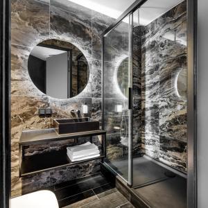 A bathroom at Le Marin Boutique Hotel