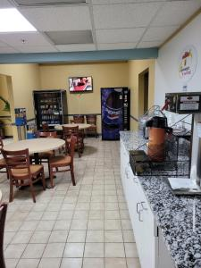 A restaurant or other place to eat at Super 8 by Wyndham Newcomerstown