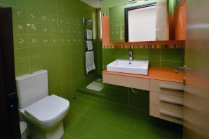A bathroom at Villa Blue Dream