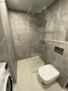 A bathroom at Overnight Family Home