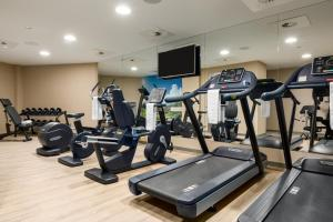 The fitness center and/or fitness facilities at NH Collection Brussels Grand Sablon