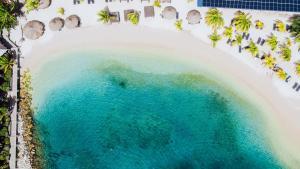 A bird's-eye view of Curacao Avila Beach Hotel