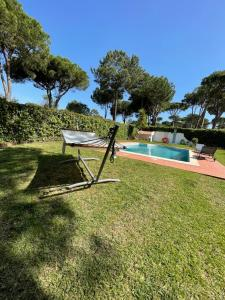 The swimming pool at or near Algarvila