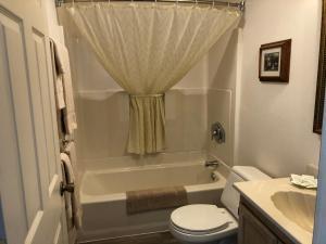 A bathroom at The Landmark Inn