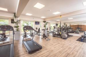 The fitness centre and/or fitness facilities at The Culloden Estate and Spa