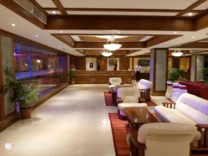 The lobby or reception area at The Chariot Resort and Spa