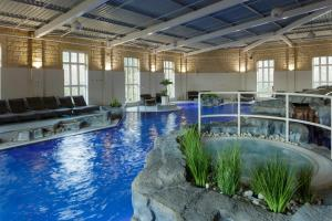 The swimming pool at or near Slaley Hall