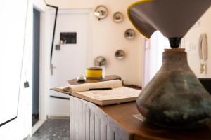 Cucina o angolo cottura di Kalamata Art Hotel