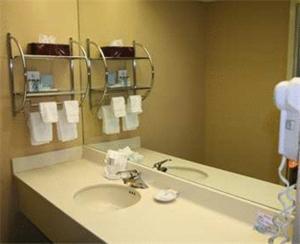 A bathroom at Hampton Inn Bristol