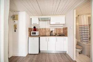 A kitchen or kitchenette at Superb apartment in the center