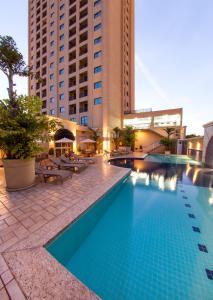 A piscina localizada em Araucaria Plaza ou nos arredores