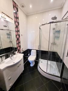 """Ванная комната в Гостиница """"20 Меридиан"""" Зеленоградск"""