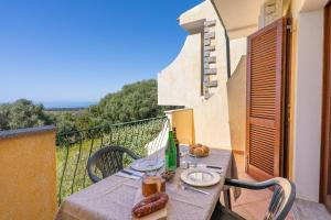 A balcony or terrace at Residence PendraSardinia Costa del Turchese by PendraHolidays