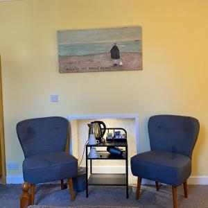 A seating area at Ernespie House Hotel