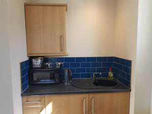 A kitchen or kitchenette at Limes Apartments