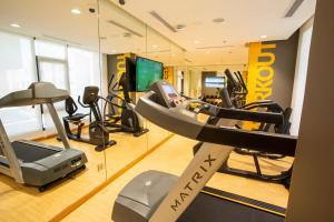The fitness center and/or fitness facilities at Velar Inn Hotel