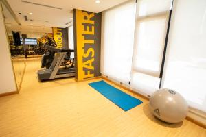 The fitness center and/or fitness facilities at Velar Inn Hotel فندق فيلار ان الطائف