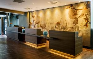 The lobby or reception area at Motel One Manchester-Royal Exchange