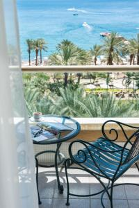A balcony or terrace at Royal Beach Hotel Eilat by Isrotel Exclusive Collection