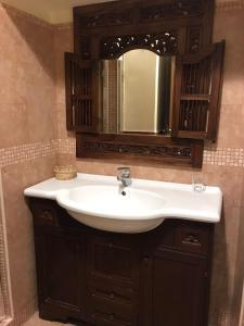 A bathroom at Schilizzi Hotel