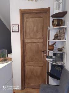 A cozinha ou cozinha compacta de Rio Groppo Guesthouse
