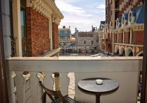 A balcony or terrace at Boutique Hotel O. Galogre