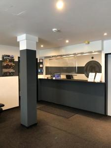 The lobby or reception area at Hotel U. + Apartments