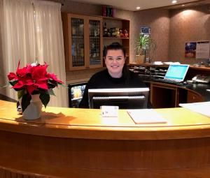 Lobby eller resepsjon på First Hotel Breiseth