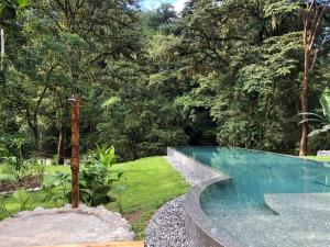 The swimming pool at or close to Pacuare Lodge