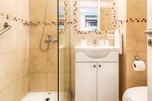 Un baño de Departamento en Bariloche