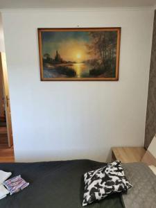 Ein Bett oder Betten in einem Zimmer der Unterkunft Ubytovanie na súkromí KIKA