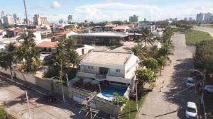 Uma vista aérea de Hotel Belo Horizonte