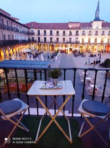 A balcony or terrace at Viva León